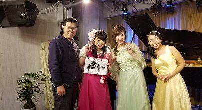 杉ノ内由紀さん、永井久美子さんのコンサート開催